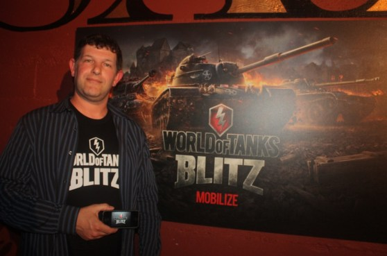 Rob Carroll of Wargaming    America
