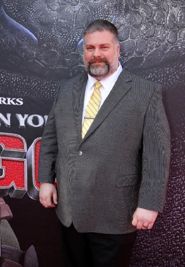 Dean DeBlois at the How to Train Your Dragon 2 premiere.