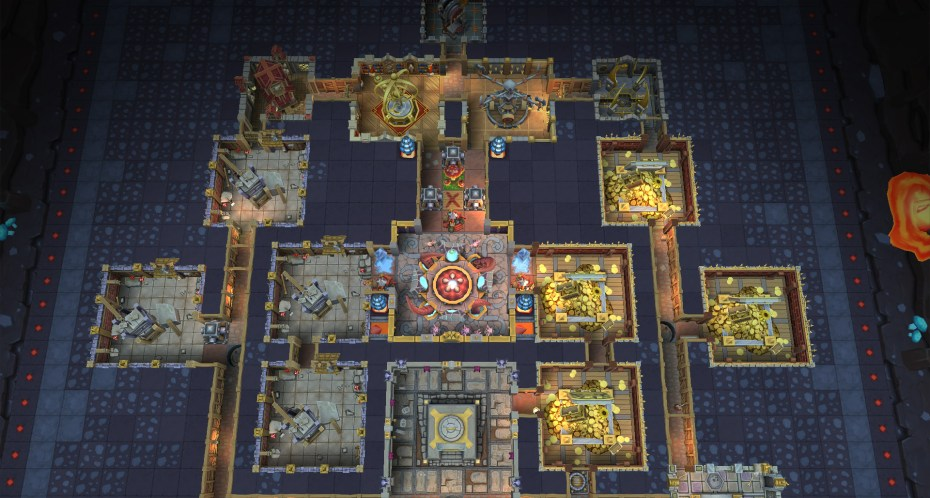 Dungeon Keeper for iOS and Android.