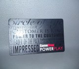 A GameStop gift card.