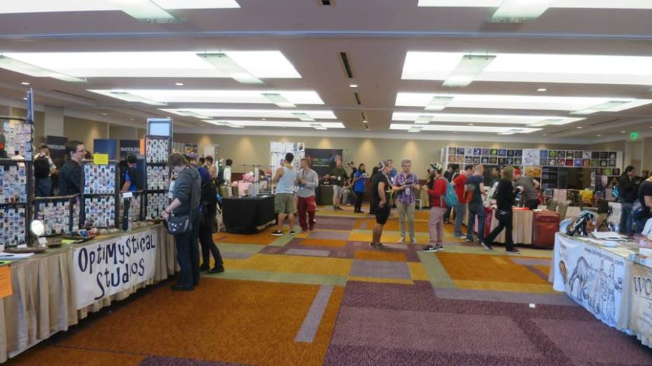 GaymerX provided floor space to a variety of game and non-game related vendors.
