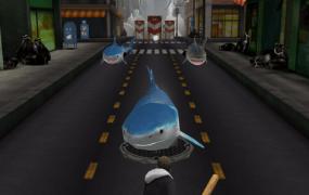 Sharknado Fin with bat