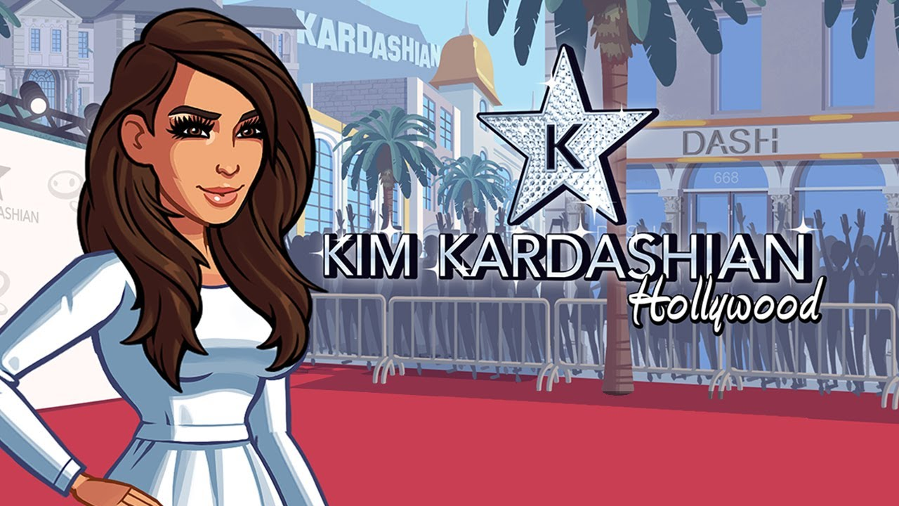 Kim Kardashian: Hollywood gives you the chance to play the game of fame.