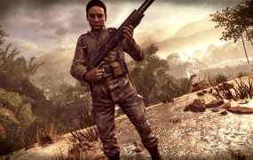 Manuel Noriega's character in Call of Duty: Black Ops II.