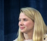 Yahoo CEO Marissa Mayer at the Chirp conference.