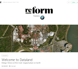Medium's Re:form collection of curated stories