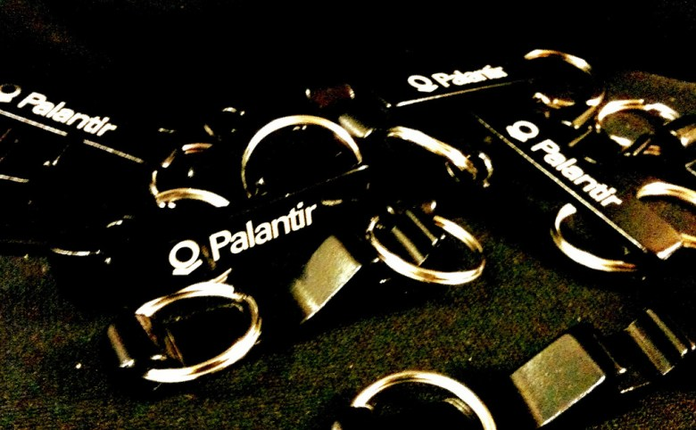 Palantir keychains Tech Cocktail Flickr
