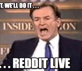 Reddit Live