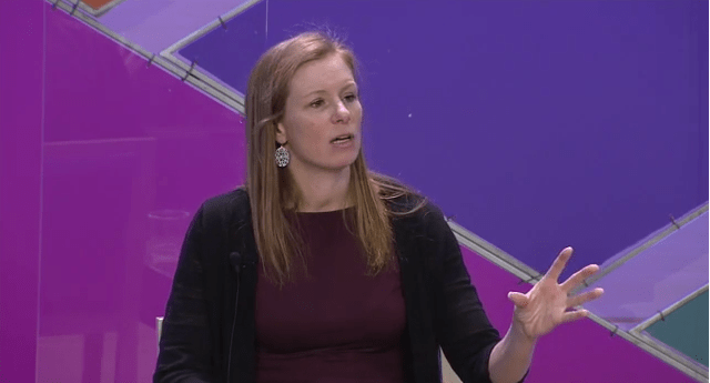 Facebook's Global head of policy, Monika Bickert