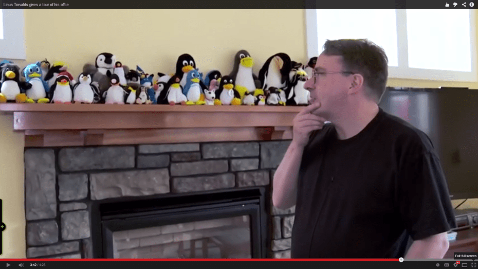 Linus and Tux