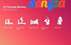 Songza Playlists