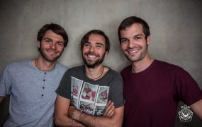 From left, Data For Good founders Tobias Pfaff,  Vicens Fayos, and  David Geffroy.