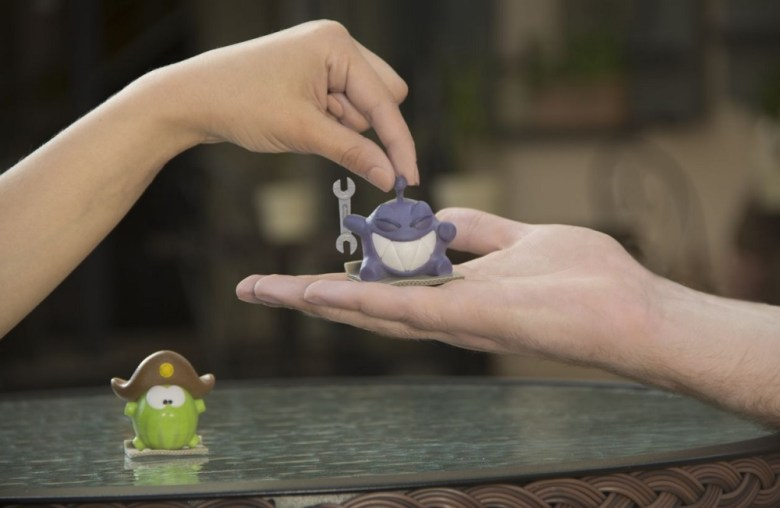 Toyze lets you print 3D models of your favorite mobile game toys.