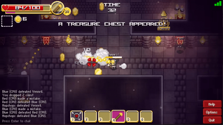 Treasure Arena is one of the games on Maxthon's MXPlay portal.