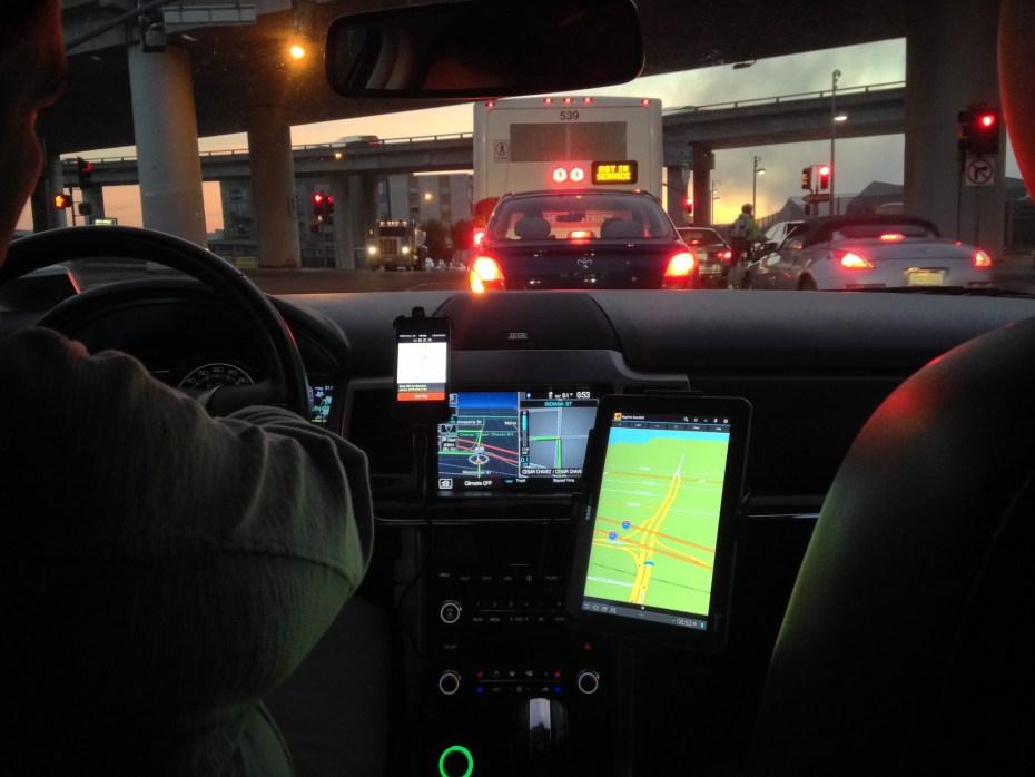 Uber car Jason Tester Guerilla Futures Flickr