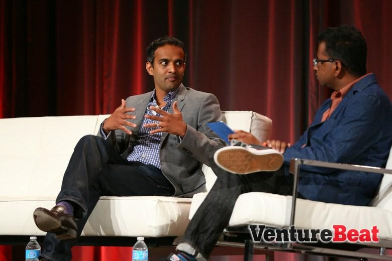 VentureBeat's Devindra Hardawar interviews Walmart's Gibu Thomas at MobileBeat 2014.