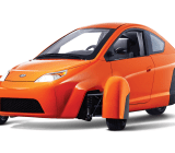 Elio's tiny three-wheeled car
