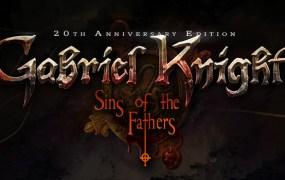 Gabriel Knight 20th Anniversary edition logo