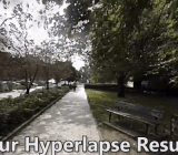 Hyperlapse screenshot