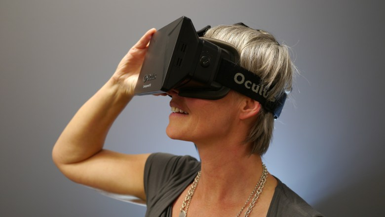 Jaunt uses the Oculus VR headset