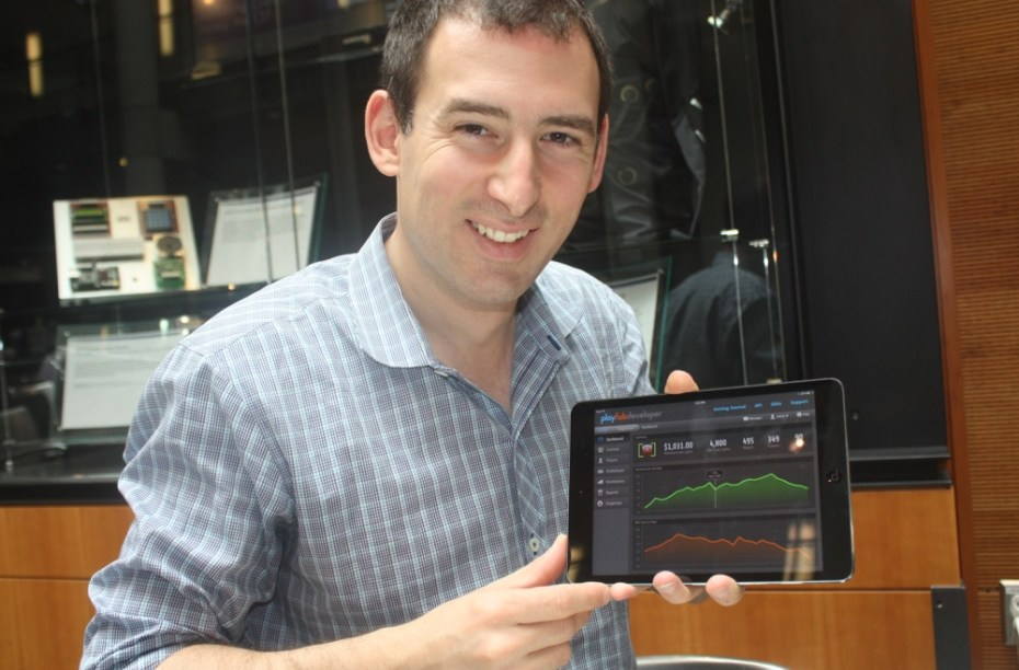 James Gwertzman, the CEO of Playfab.
