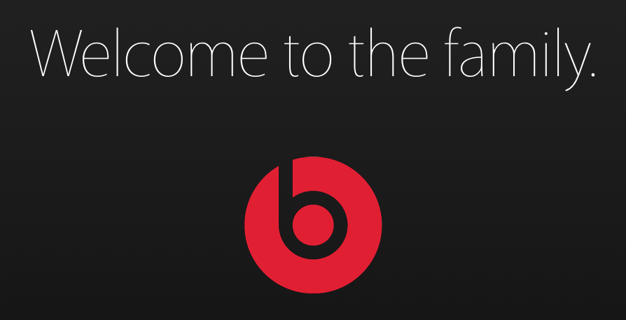 Apple welcomes Beats
