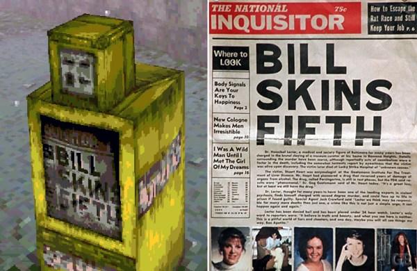 Silent Hill Bill Skins Fifth