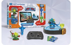 "The Starter Pack comes with two character figures, two trap accessories, and the Bluetooth ""portal"" platform."