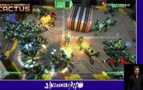 Assault Android Cactus, a game built with Unity that runs on the PlayStation 4, the PS Vita, and PC.