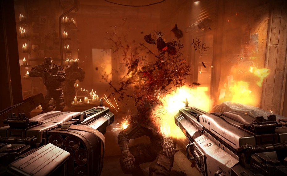 Dual-wielding is a necessity at times in Wolfenstein: The New Order