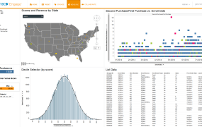 A screen from Tibco's new Engage service