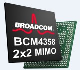 Broadcom's combo chip aims to double Wi-Fi performance.