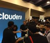 Cloudera booth Facebook
