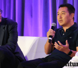 Tencent's Dan Brody and Steven Ma speak Tuesday at GamesBeat 2014.