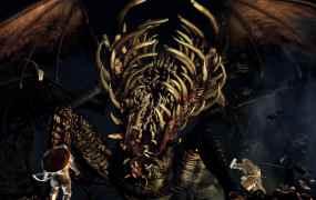 Dark Souls Gaping Dragon