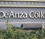 DeAnza College in Cupertino, Calif., is host to Apple's event