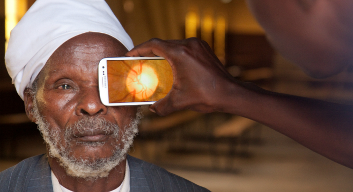 Peeks makes an app and a clip-on piece of hardware that non-healthcare experts can use to perform eye-health checks for people who might not otherwise have access to them.