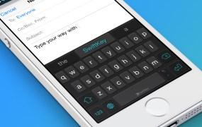 SwiftKey iOS 8 screenshot