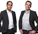 Truecaller co-founders AlanMamedi NamiZarringhalam.