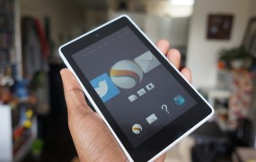 "Amazon's 6"" Fire HD tablet"