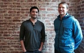 BuildZoom co-founders Jiyan Wei and David Petersen