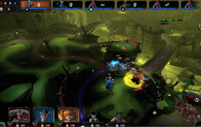 Amazon Game Studios' CreepStorm is exclusive to the Fire tablet.
