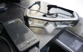 Epson's Moverio BT-200 smartglasses