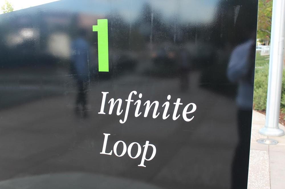 Apple's Infinite Loop headquarters