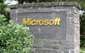 Microsoft sign Dcoetzee Wikipedia