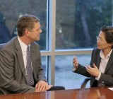 Former AMD CEO Rory Read with new CEO Lisa Su