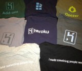Heroku tshirts Adam Wiggins Flickr