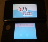 "The ""Homebrew Channel"" running on a 3DS."