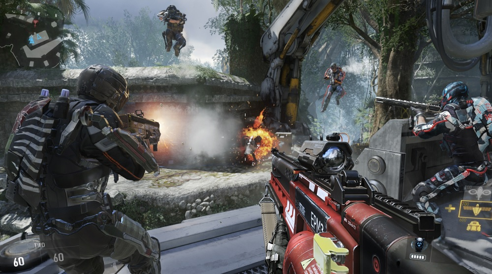 Call of Duty: Advanced Warfare in action.