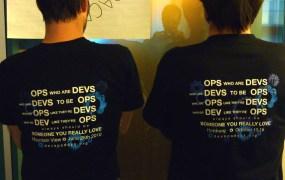 DevOps guys represent.